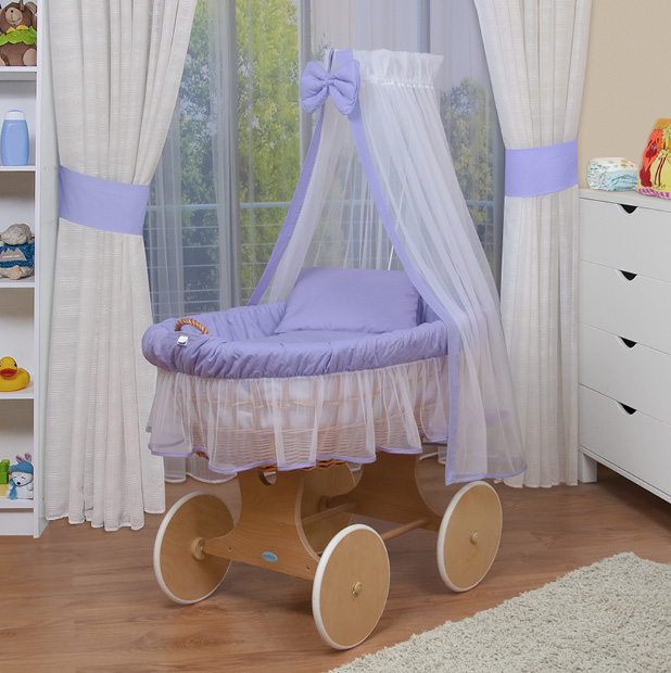 waldin baby bollerwagen xxl stubenwagen neu lila. Black Bedroom Furniture Sets. Home Design Ideas