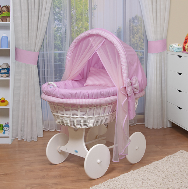 baby bollerwagen stubenwagen xxl rosa kaufen auf. Black Bedroom Furniture Sets. Home Design Ideas