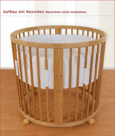 waldin kinderbett laufgitter stubenwagen minibett ebay. Black Bedroom Furniture Sets. Home Design Ideas