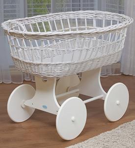 waldin baby bollerwagen stubenwagen xxl neu wei ebay. Black Bedroom Furniture Sets. Home Design Ideas
